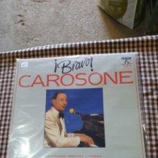 Discos de vinilo: ¡BRAVO¡ CAROSONE, 2 VINILOS, PDI F - 40.24 39, 1991.. Lote 205801653