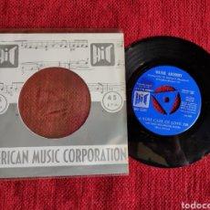 Discos de vinilo: WAYNE ANTHONY/ A THOUSAND MILES AWAY 1966 PROMO ESPAÑOL. Lote 205803012