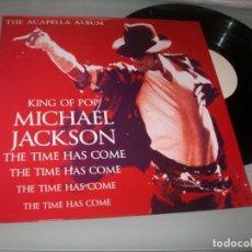 Discos de vinilo: MICHAEL JACKSON - KING OF POP ..LP VINILO - THE TIME HAS COME - SOLO 250 COPIAS , LA Nº 1 UNICO. Lote 205804871