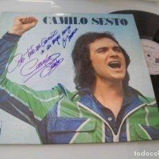Discos de vinilo: CAMILO SESTO - ..2º LP - ALGO MAS, TODO POR NADA ..ETC ..LP DE 1973 - FIRMADO POR CAMILO ..EN 1984. Lote 205806591