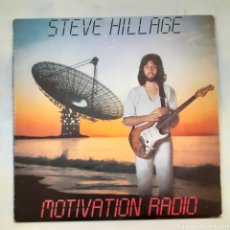 Discos de vinilo: STEVE HILLAGE. MOTIVATION RADIO. VIRGIN 25468-I. ESPAÑA 1977.. Lote 205807500