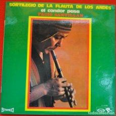 Discos de vinilo: FACIO SANTILLAN - SORTILEGIO DE LA FLAUTA DE LOS ANDES - LP DE VINILO. Lote 205808428