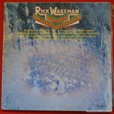 Discos de vinilo: RICK WAKEMAN - JOURNEY TO THE CENTRE OF THE EARTH - LP DE VINILO. Lote 205813826
