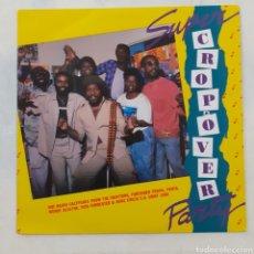 Discos de vinilo: SÚPER CROPOVER PARTY. CALYPSO DE LOS DRAYTONS Y OTROS. WEST INDIES RECORDS, W280. BARBADOS 1988.. Lote 205815168