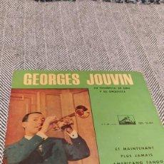Discos de vinilo: SINGLE GEORGES JOUVIN. Lote 205816435