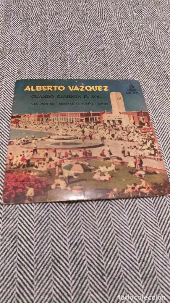 SINGLE ALBERTO VÁZQUEZ (Música - Discos - Singles Vinilo - Otros estilos)