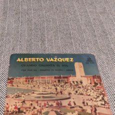Discos de vinilo: SINGLE ALBERTO VÁZQUEZ. Lote 205817696