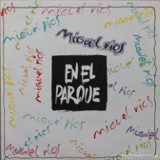 Discos de vinilo: MIGUEL RIOS// EN EL PARQUE// SINGLE PROMOCIONAL// 1992// POLYDOR. Lote 205818478