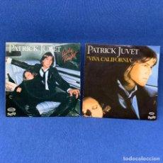 Discos de vinilo: SINGLE - LOTE DE DOS SINGLES - PATRICK JUVET - LADY NIGHT - VIVA CALIFORNIA - ESPAÑA 1979. Lote 205822217
