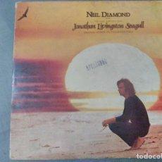 Discos de vinilo: DISCO LP. NEIL DIAMOND. JONATHAN LIVINGSTON SEAGULL. BANDA SONORA ORIGINAL. 1.973. Lote 205827195