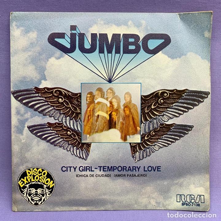 SINGLE JUMBO CITY GIRL - TEMPORARY LOVE (Música - Discos - Singles Vinilo - Funk, Soul y Black Music)