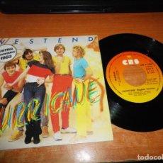 Discos de vinilo: WESTEND HURRICANE EUROVISION AUSTRIA 1983 SINGLE VINILO 1983 ESPAÑA 2 TEMAS. Lote 205832122