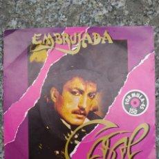 Discos de vinilo: TINO CASAL. EMBRUJADA. SINGLE VINILO BUEN ESTADO. Lote 205837035