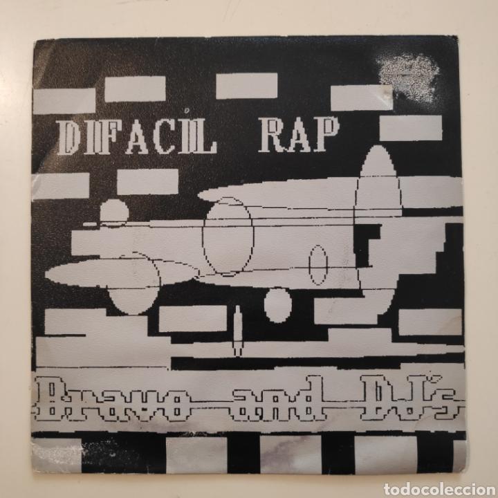 NT DIFACIL RAP - BRAVO AND DJ'S 1989 PROMO PROMOCIONAL SPAIN SINGLE VINILO (Música - Discos - Singles Vinilo - Rap / Hip Hop)