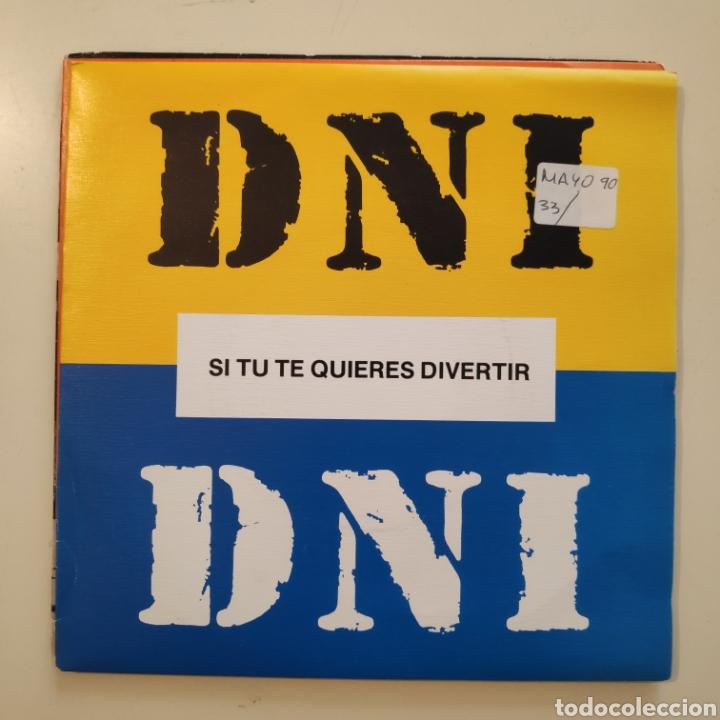 NT DNI - SI TU TE QUIERES DIVERTIR 1990 HIP HOP SPAIN SINGLE VINILO (Música - Discos - Singles Vinilo - Rap / Hip Hop)