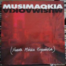 Discos de vinilo: MUSIMAQKIA (NUEVA MUSICA ESPAÑOLA) (CLIK – CLK-001-1) VINYL, LP, COMPILATION (D:VG++). Lote 205839237