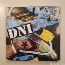 Discos de vinilo: NT DNI - COCHES, ZAPATILLAS Y MUJERES 1990 HIP HOP SPAIN SINGLE VINILO. Lote 205839361