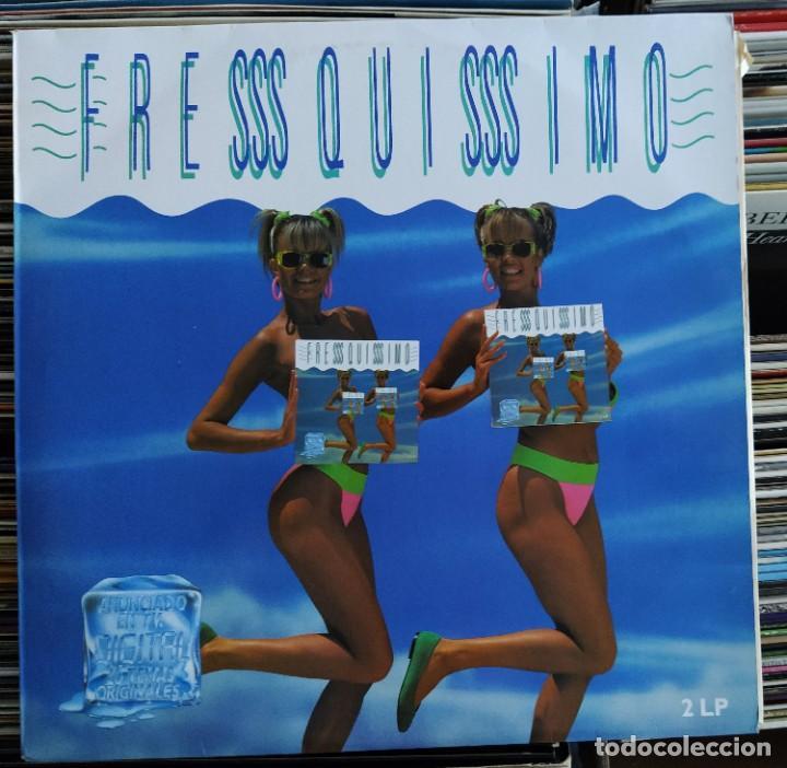 FRESSSQUISSSIMO (POLYSTAR 840 528-1) (2 × VINYL, LP, COMPILATION) (D:VG++) (Música - Discos - LP Vinilo - Disco y Dance)