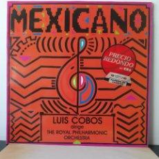 Discos de vinilo: LUIS COBOS. MEXICANO. THE ROYAL PHILARMONIC ORCHESTA. 1984. ESPAÑA.. Lote 205844635