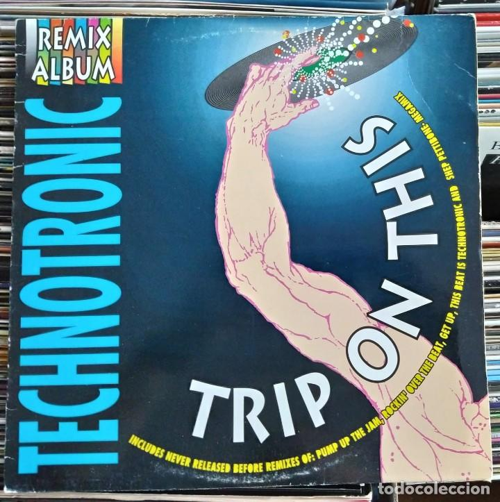 TECHNOTRONIC ‎– TRIP ON THIS! - THE REMIXES (MAX MUSIC ‎– MLB 432) VINYL, LP (D:VG+) (Música - Discos - LP Vinilo - Disco y Dance)