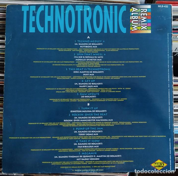 Discos de vinilo: Technotronic ‎– Trip On This! - The Remixes (Max Music ‎– MLB 432) Vinyl, LP (D:VG+) - Foto 2 - 205845978
