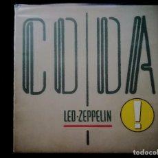 Discos de vinilo: LED ZEPPELIN - CODA. Lote 205847190