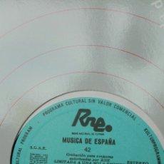 Discos de vinilo: RNE TRANSCRIPCIONES. MÚSICA DE ESPAÑA. 42. EL SENTIMIENTO RELIGIOSO EN LA MÚSICA ESPAÑOLA.. Lote 205847992