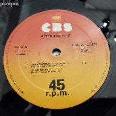 "Discos de vinilo: AFTER THE FIRE - DER KOMMISSAR (12"", MAXI) 1983.CBS CBS A 12.3299. VINILO COMO NUEVO. Lote 205849567"