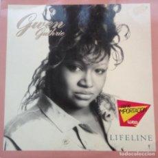 Discos de vinilo: GWEN GUTHRIE LIFELINE 1988. Lote 205851861