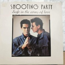 "Discos de vinilo: SHOOTING PARTY - SAFE IN THE ARMS OF LOVE (12"")1988. SANNI RECORDS PWLT13, COMO NUEVO- ITALO-DANCE. Lote 205852686"