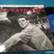 Discos de vinilo: DE RAYMOND CAE LA NIEVE / NO TE CREO / MADRE CANARIA / GRAN CANARIA EP 1964 REGAL ISLAS CANARIAS. Lote 205852791
