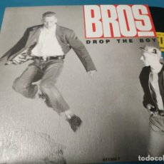 Discos de vinilo: BROS - DROP THE BOY - SINGLE - PROMOCIONAL - UNA SOLA CARA - ESPAÑA - 1988. Lote 205853862