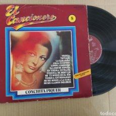 Discos de vinilo: RML REF:R400R DISCO VINILO GRANDE - CONCHITA PIQUER - EL CANCIONERO N°8. Lote 205856340