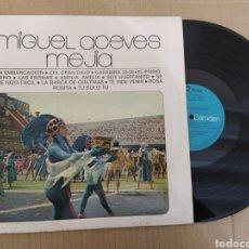 Discos de vinilo: RML REF:R400R DISCO VINILO GRANDE - MIGUEL ACEVES MEJIA. Lote 205857183