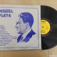 Discos de vinilo: RML REF:R400R DISCO VINILO GRANDE - MIGUEL FLETA. Lote 205857371