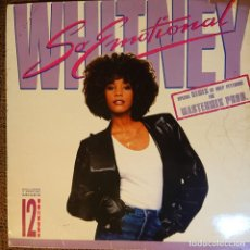 Discos de vinilo: WHITNEY HOUSTON SO EMOTIONAL. Lote 205858548