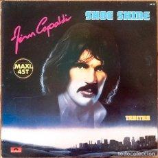 Discos de vinilo: JIM CAPALDI : SHOE SHINE [FRA 1979] 12'. Lote 205859697