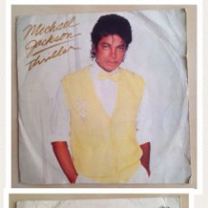 "Discos de vinilo: SINGLE THRILLER 7"" MICHAEL JACKSON THRILLER . 1983.. Lote 205861101"
