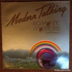Disques de vinyle: MODERN TALKING - ROMANTIC WARRIORS. Lote 205862143