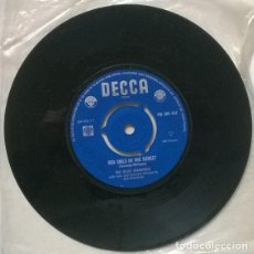 Disques de vinyle: THE BLUE DIAMONDS. RED SAILS IN THE SUNSET/ CARMEN MY LOVE. DECCA, HOLLAND 1961 SINGLE. Lote 205862983