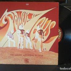 Discos de vinilo: POWER OF ZEUS THE GOSPEL ACCORDING TO ZEUS LP USA PEPETO TOP. Lote 205864538