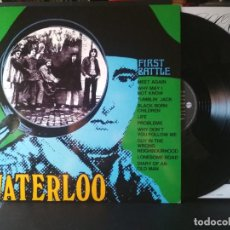 Discos de vinilo: WATERLOO FIRST BATTLE LP SPAIN 2009 PEPETO TOP. Lote 205864717