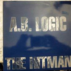 """Discos de vinilo: A.B. LOGIC* - THE HITMAN (12"""")1992 SELLO:USA IMPORT MUSIC CAT. Nº: USA 1135. COMO NUEVO. Lote 205866228"""
