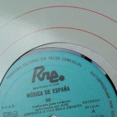 Discos de vinilo: MÚSICA DE ESPAÑA. TRANSCRIPCIONES RNE. NÚMERO 86. MUJERES COMPOSITORAS. Lote 205866852