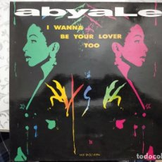 "Discos de vinilo: ABYALE - I WANNA BE YOUR LOVER TOO (12"", MAXI) 1984. CBS/SONY CAT. Nº: 656407 6. COMO NUEVO. Lote 205867335"