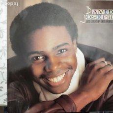 "Discos de vinilo: DAVID JOSEPH - LET'S LIVE IT UP (NITE PEOPLE) (12"")1983.ISLAND RECORDS.12 IS 116.VINILO COMO NUEVO. Lote 205867458"