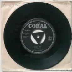 Discos de vinilo: ERIN O'BRIEN. HONEY BOY/ PADRE. CORAL, UK 1958 SINGLE. Lote 205867626