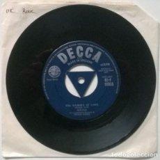 Discos de vinilo: DON FOX. PARTY TIME/ THE MAJESTY OF LOVE. DECCA, UK 1957 SINGLE. Lote 205867803