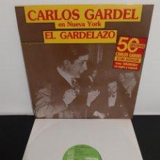 Discos de vinilo: CARLOS GARDEL EN NUEVA YORK. EL GARDELAZO. ULTIMA GRABACION! RCA. 1983. LINEATRES.. Lote 205867883
