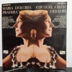 Discos de vinilo: EXITOS DE MARIA DOLORES PRADERA. 1967. PRIMERA EDICIÓN. ZAFIRO. ZL-99. ESPAÑA.. Lote 205868636